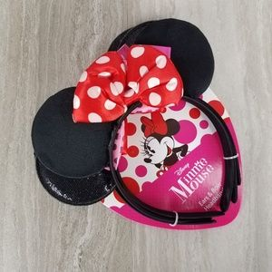 NWT Disney Minnie Mouse Set of 3 Girls Headbands